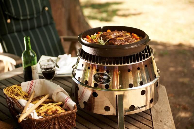 Houtstook enzo Petromax Atago BBQ Grill