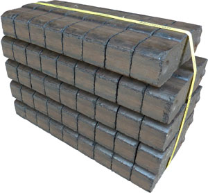 houtstookenzo HeizProfi Bruinkoolbriketten bundel 25 Kg