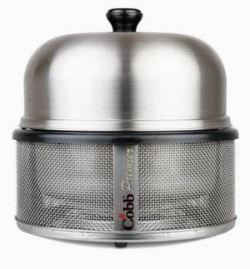 Houtstook enzo Cobb premier RVS Compacte BBQ draagbare BBQ portable BBQ Boot BBQ picknick BBQ