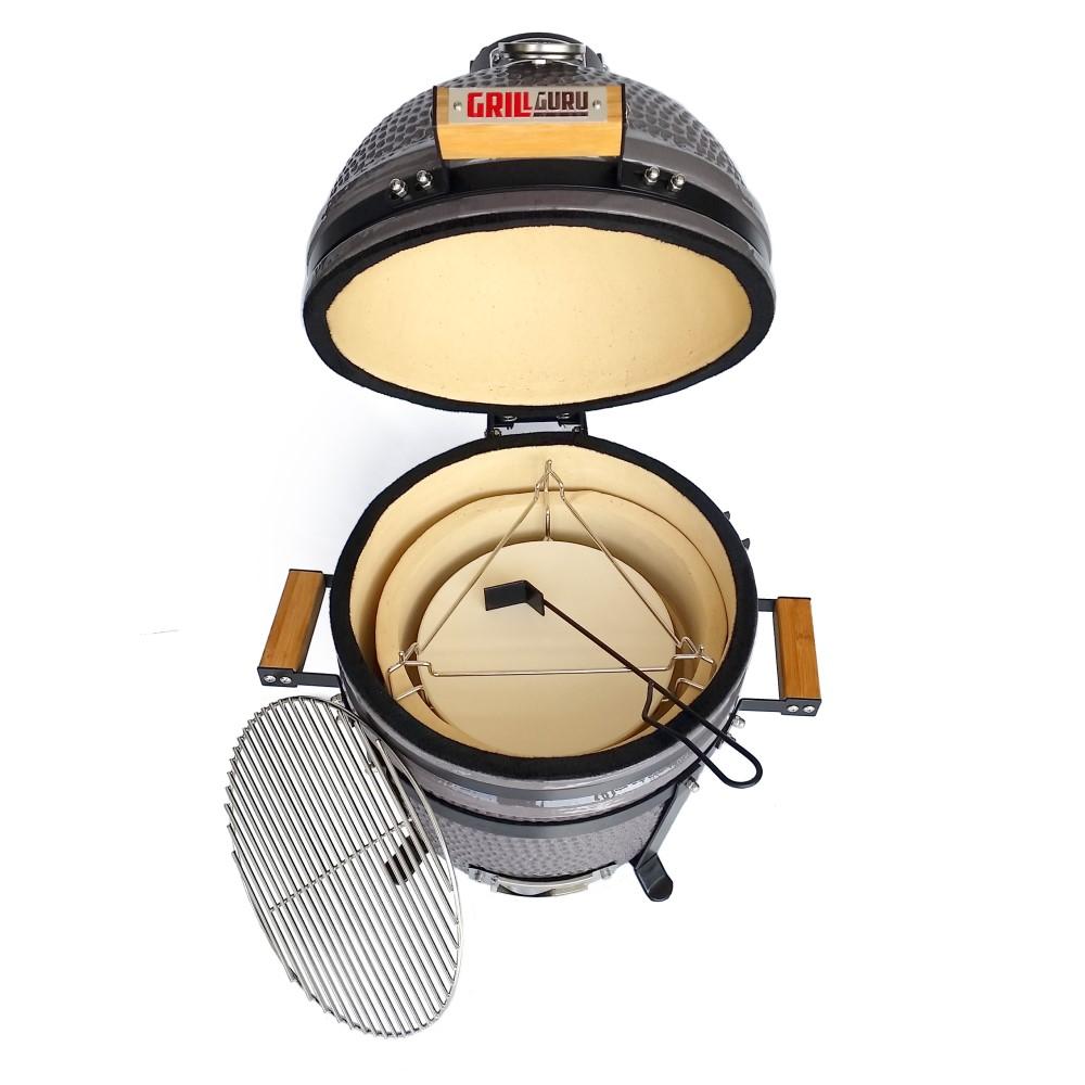 Houtstook enzo Grill Guru Classic Compact