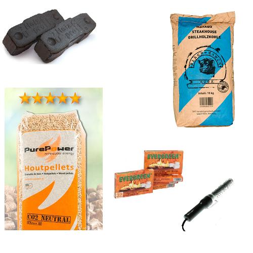 brandhout pellets kolen Pellets
