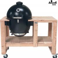 Houtstook enzo Apache Grill kamado inclusief bbq tafel