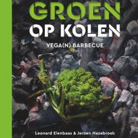 Houtstook enzo boek groen op kolen