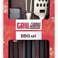 Houtstook enzo Grill Guru BBQ set 4-delig