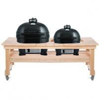 Houtstook enzo Primo Grill dubbele cyprestafel Junior XL