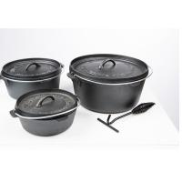 Houtstook enzo The Bastard Dutch Oven Large 31 cm 3 ltr