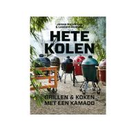 Houtstook enzo Hete kolen kamado green egg boek kookboek