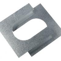 Houtstook enzo ISOduct DW 125 mm brandseperatieplaat