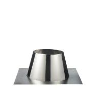 Houtstook enzo rookkanaal isoduct 150 mm plakplaat