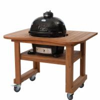 Houtstook enzo Primo Grill Oval Large teaktafel