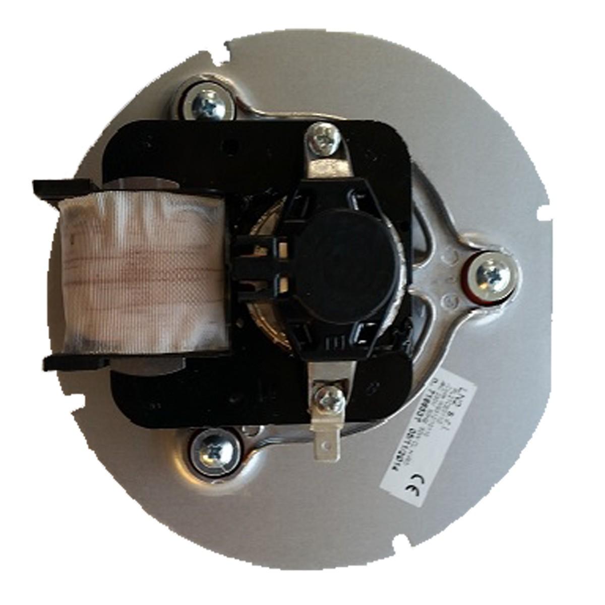 Houtstook Enzo Uitlaatgas Motor / Rookgas Ventilator