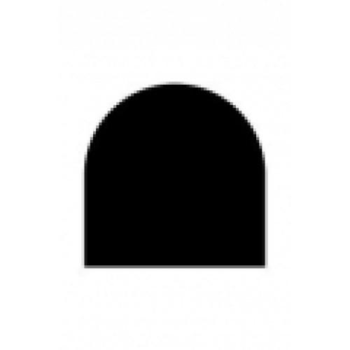 Vloerplaat staal zwart